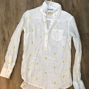 Pineapple Button-up!